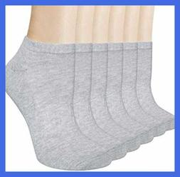6 pairs womens ankle socks no show