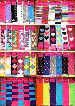 6 Pairs Womens Girls Knee High Socks Thick Secret Lot Multi-