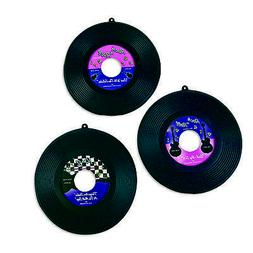 6 Sock Hop Grease Party 50's Hanging Decoration 45rpm Rock &