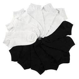 7 Pairs Women <font><b>Socks</b></font> Breathable Solid Col