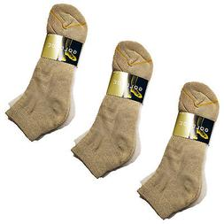 9 Pairs Gold Toe  Moist Wicking  Ankle Sock W/ Arch Support