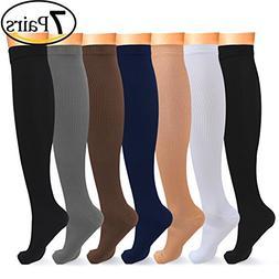 L-Lweik Compression Socks Women Men Light Compression Stocki