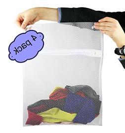 Laundry Supplies Machine Laundry Socks Bag with Zipper Closu