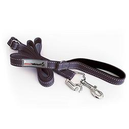 ThunderLeash No-Pull Dog Leash, Black/Reflective, Large