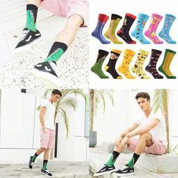 WeciBor Men's Funny Fruit Style Pattern Casual Dress Novelty