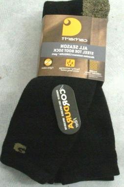 Carhartt A555 All Season Full Cushion Steel Toe Cotton Work