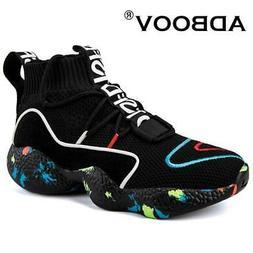 ADBOOV  High Top Sneakers Women Knit Upper Breathable Sock S