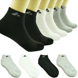 Adi 12 Pairs Ankle/Quarter Crew Mens Sport Socks Cotton Low