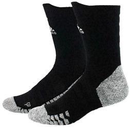 adidas Alphaskin Traxion Maximum Cushioned Crew Socks , blac