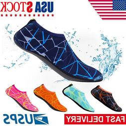 Adult Kid Water Shoes Barefoot Skin Socks Quick-Dry Aqua Bea