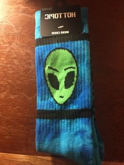 Alien Tie-Dye Crew Socks NEW