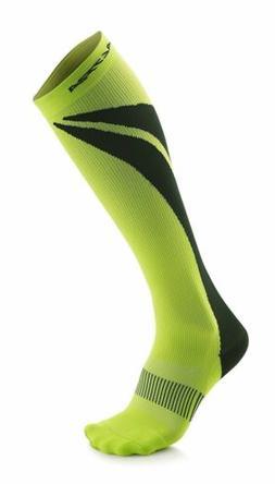Altra Maximum 1.0 Light Anatomical Compression Socks, Lime/B