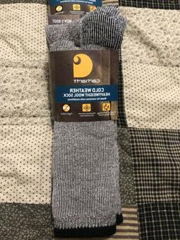 Carhartt Men's Arctic Wool Heavy Boot Socks,  Moss, Shoe: 6-