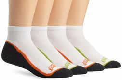 Timberland Men's 4 Pack Assorted Low Quarter Socks, Black/Mu