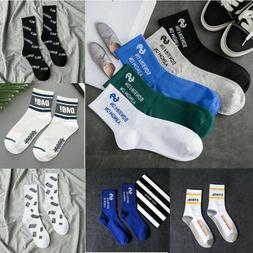 Athlete Long Socks New Men Women Cotton Socks High Street Sk