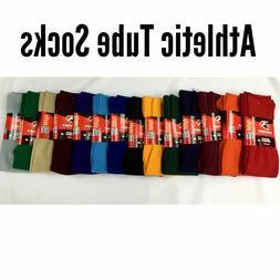 Athletic All Sport Tube Socks Baseball Soccer Softball Footb