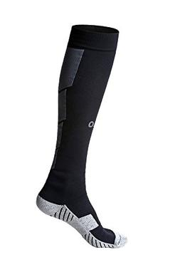 Mens Sports Athletic Compression Football Soccer Socks Over