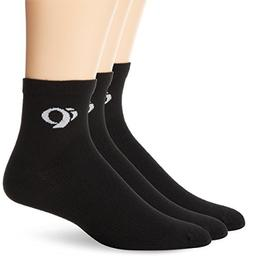 Pearl Izumi Men's Attack Socks , Black, Medium