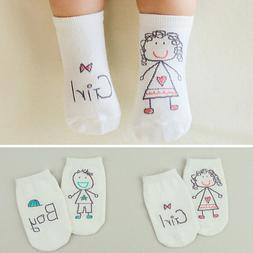Baby Boy Girl Socks Cute Cartoon Cotton Socks NewBorn Infant