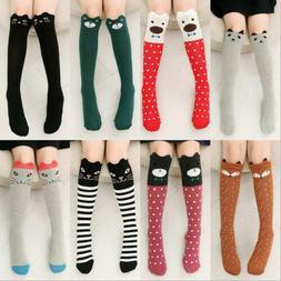 Baby Kids Toddlers Girls Knee High Socks Tights Leg Warmer S