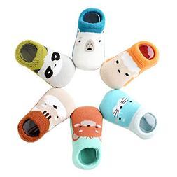 Baby Socks for Girls - Newborn Infant Toddler Boys Cute Anim
