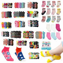 Baby Toddler Girl  Mixed Assorted Color Ankle Socks Wholesal