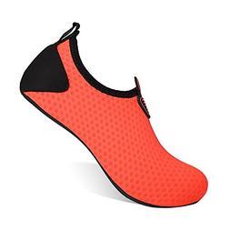 HEETA Barefoot Water Sports Shoes for Women Men Quick Dry Aq