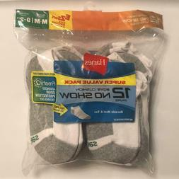 boys 12 pair no show cushion socks