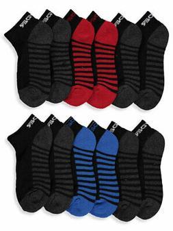 boys 6 pack quarter socks sizes 6