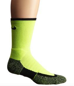 Nike Boys Black Multi Elite Dri Fit Tennis Crew Socks Sz XS