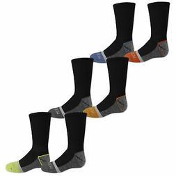 Fruit of the Loom Boys Everyday Active Crew Socks 6 Pair