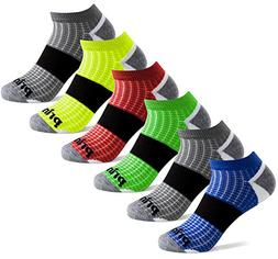 Prince Boys' Low Cut Athletic Socks for Active Kids  , Assor