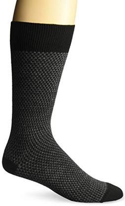 ExOfficio Men's BugsAway Brookside Park Sock, Black, Medium/