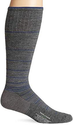 ExOfficio Men's BugsAway Compression Sock, Grey Heather, Lar