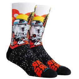 C-3PO &  Star Wars Stance Socks Large Men's 9-12 Throwback