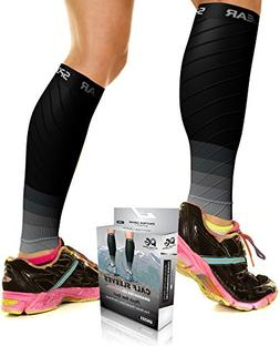 PHYSIX GEAR SPORT Calf Compression Sleeves for Men & Women -