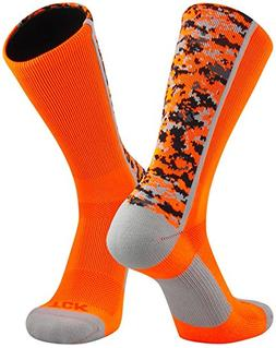 TCK Sports Digital Camo Crew Socks