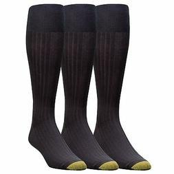 Gold Toe Men's Premium Over the Calf Canterbury Dress Socks,