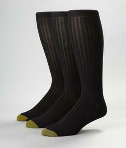 Gold Toe Canterbury Over The Calf Dress Socks 3-Pack Hosiery