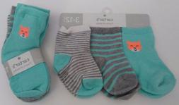 Carter's 3-12 Months or 12-24 Months Three Pair Pack Gender