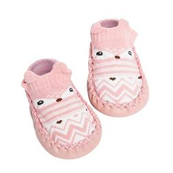 SUKEQ Cartoon Baby Girls Boys Soft Anti-Slip Cotton Socks Sl