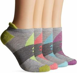 Champion Women'S Double Dry  Performance Heel Shield Socks