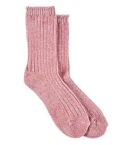 HUE Chenille Crew Socks Hosiery - Women's