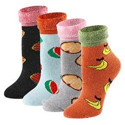 Christmas Cotton Warm Casual Socks - KEAZA SD01C2 Women Colo