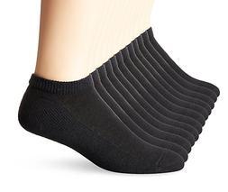 Hanes Men's 6 Pack Classics No Show Socks, Sock Size: 10-13