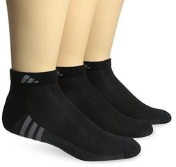 adidas Men's Climacool Superlite Low Cut Socks , Black/Graph