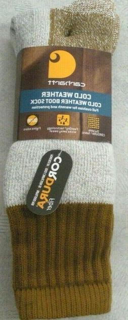 Carhartt Cold Weather Boot Sock, Carhartt A66 Socks, 1 pair,