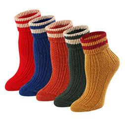 Comfy Cotton Ankle Thick Socks - KEAZA WZ15C4 Women Winter W