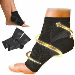 Compression Sleeve Support PLANTAR FASCIITIS Foot Pain Valgu