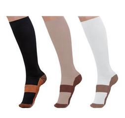 Compression Socks 20-30mmHg Graduated Support Relief Calf Me